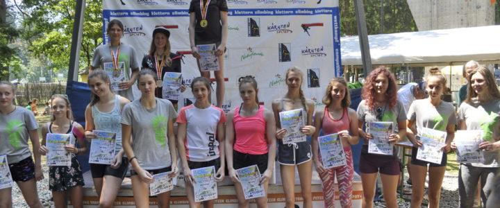Veliki uspeh Nore Bognar na Petzen Climbing Trophy i Alps – Adriatic iRCC kup 2019, u sportskom penjanju