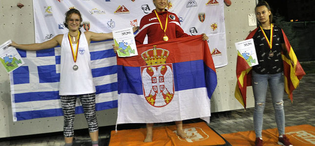Nora Bognar donela zlatnu medalju sa Balkanskog prvenstva