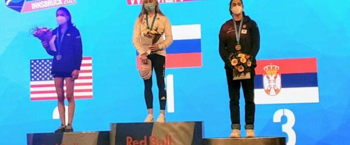 Bronzana medalja za Srbiju! Staša Gejo na podijumu u Austriji!